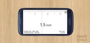 Smart Ruler - aplikacje na smartfony