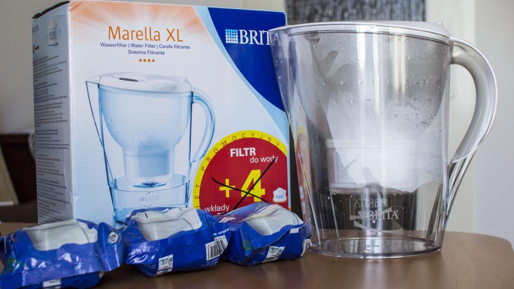 Brita Marella XL - dzbanek i filtr do wody