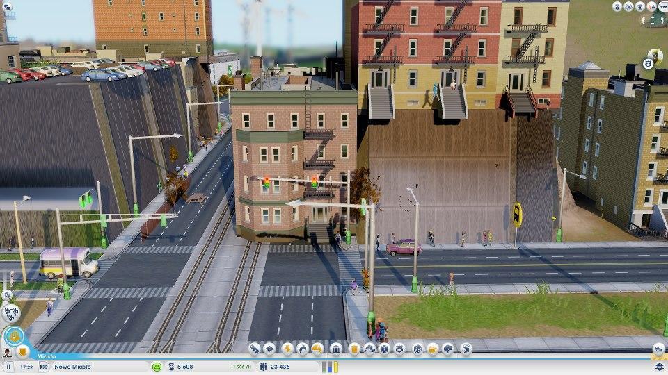 Simcity bug - budynek w budynku