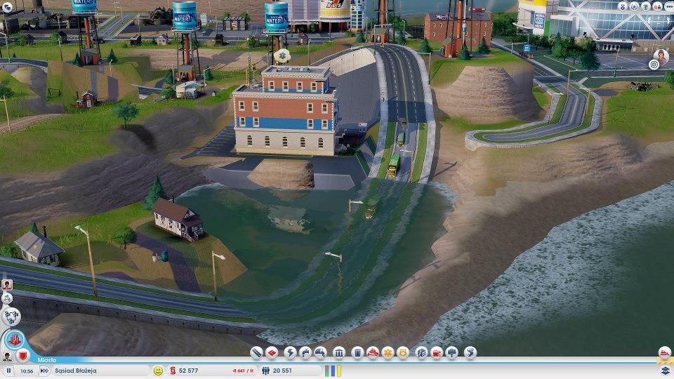 Simcity 5 - powódź