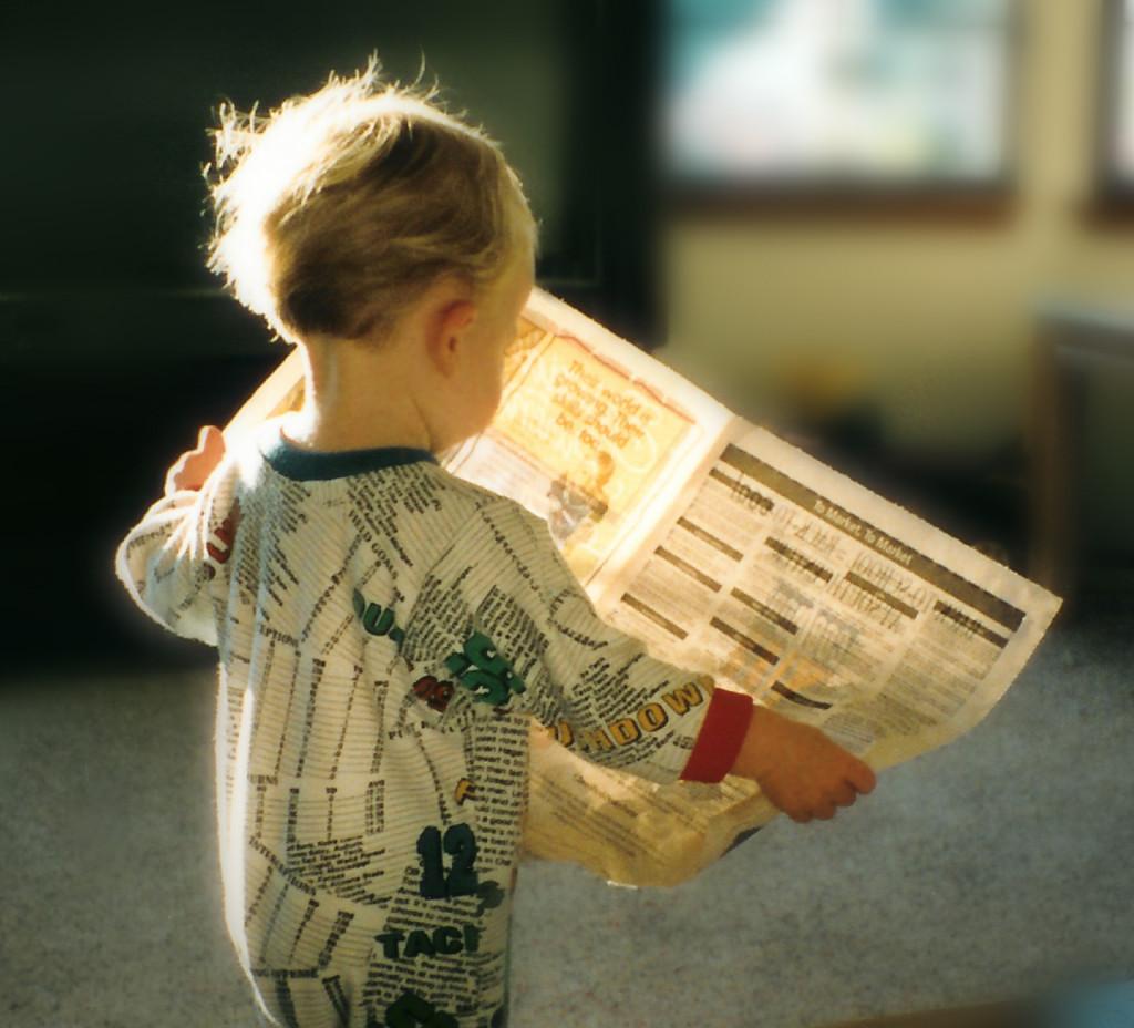 Spadek sprzedaży gazet
