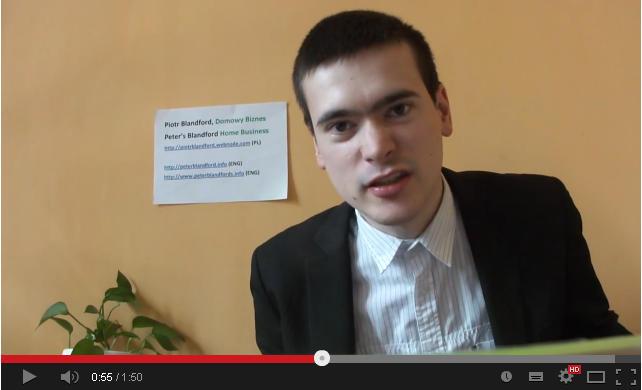 """YouTube Rewind 2013: Piotr Blandford i jego """"jesteś zwycięzcą"""""""