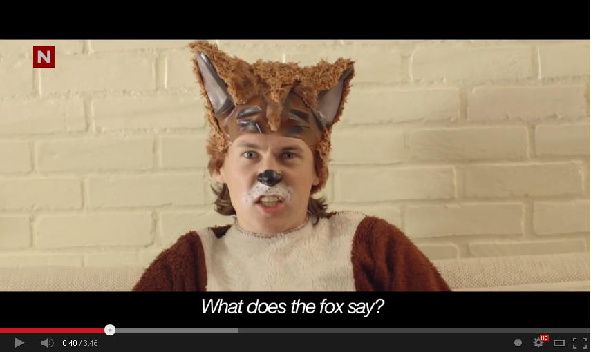 Youtube rewind 2013: The Ylvis - The Fox