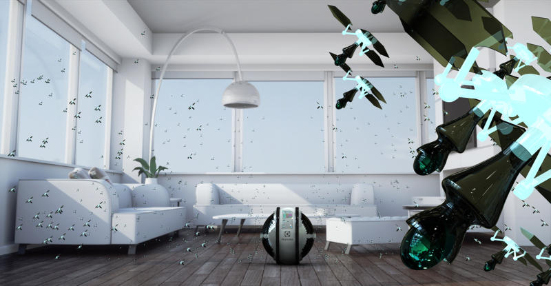 Electrolux Design Lab - Adrian Perez i jego robot MAB