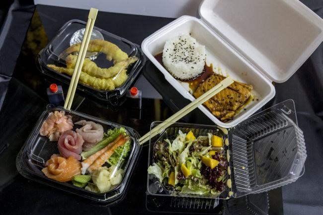 Moje zamówienie z Takami Sushi w Lublinie na Pyszne.pl