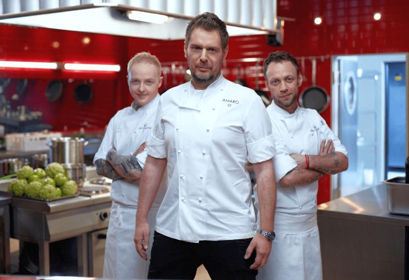 Piekielna Kuchnia Dwóch Top Chefów Pomoże Amaro