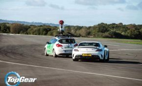 Google Street View na torze Top Gear (wideo)