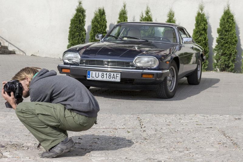 Lubelskie Klasyki Nocą - Jaguar XJS