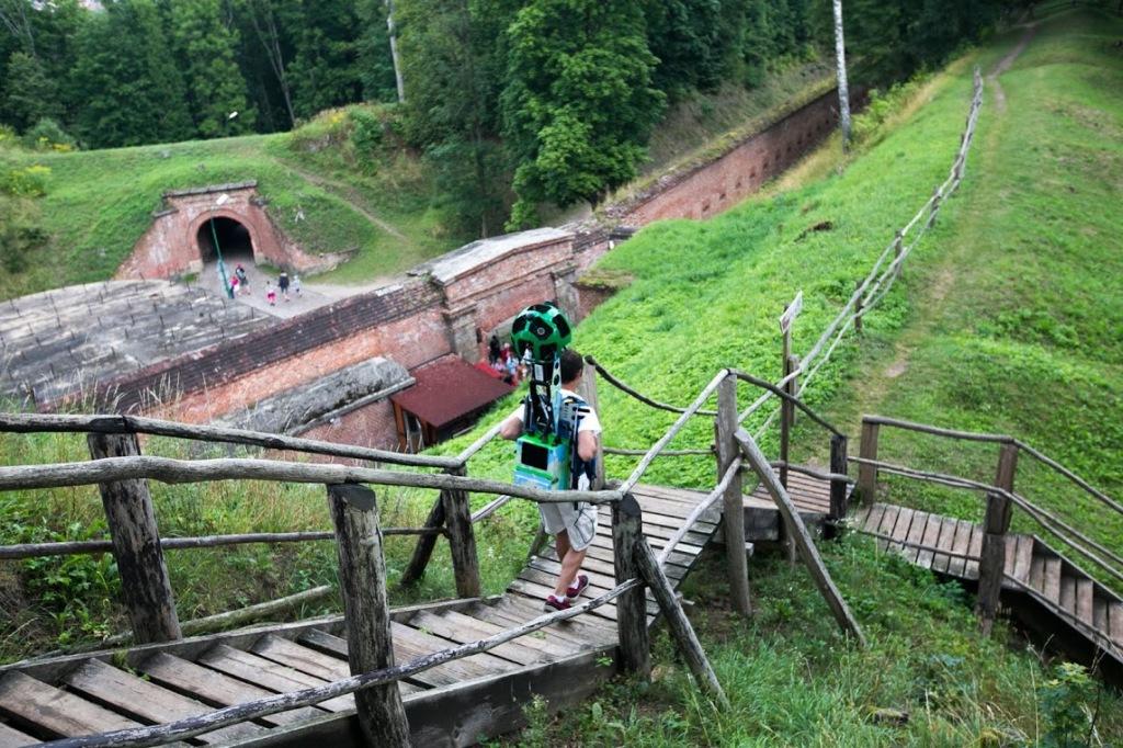 Google Street View - Trekker w Polsce