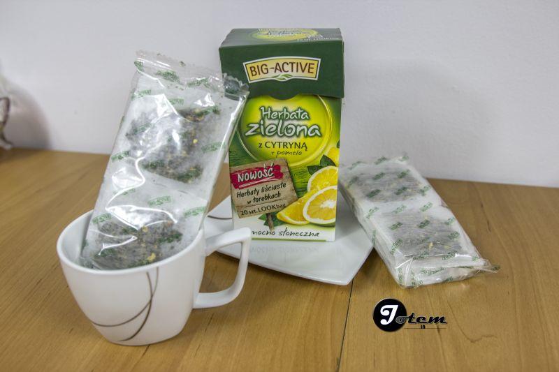 Herbata big activ - Pomelo