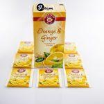 Herbata Teekanne Orange ginger