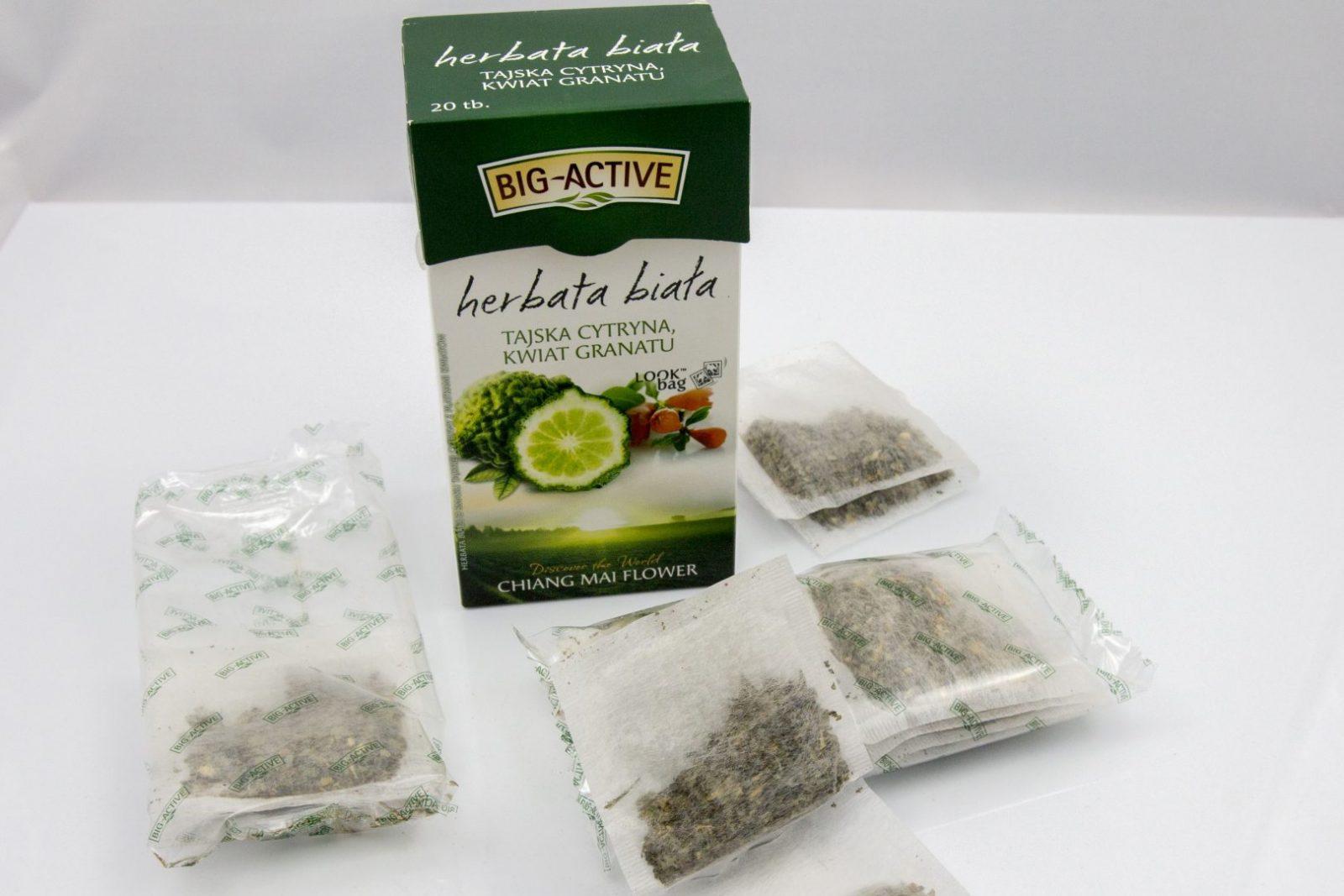 Herbata Big Active - Tajska cytryna z granatem