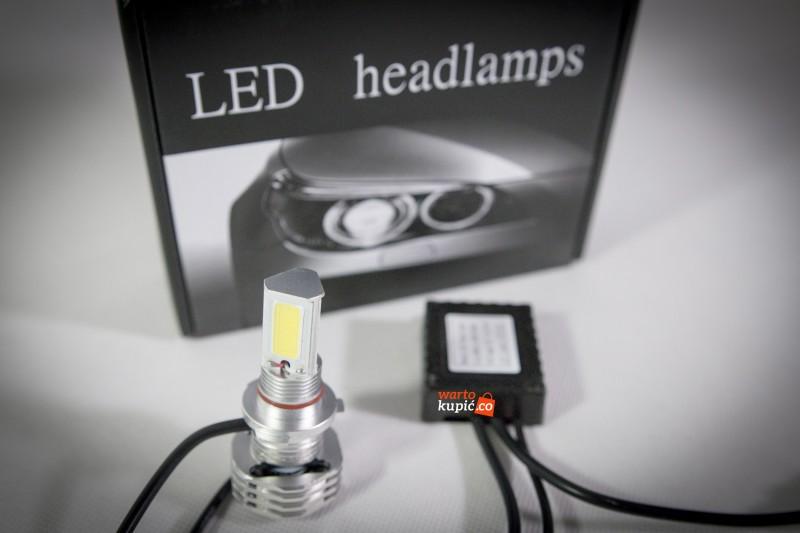 Światła LED do samochodu