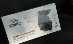 Wideorejestrator Xblitz P500 (recenzja, test, sample)