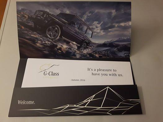 Zaproszenie na G-Class experience