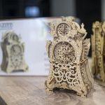 Wooden City: Drewniany ruchomy zegar