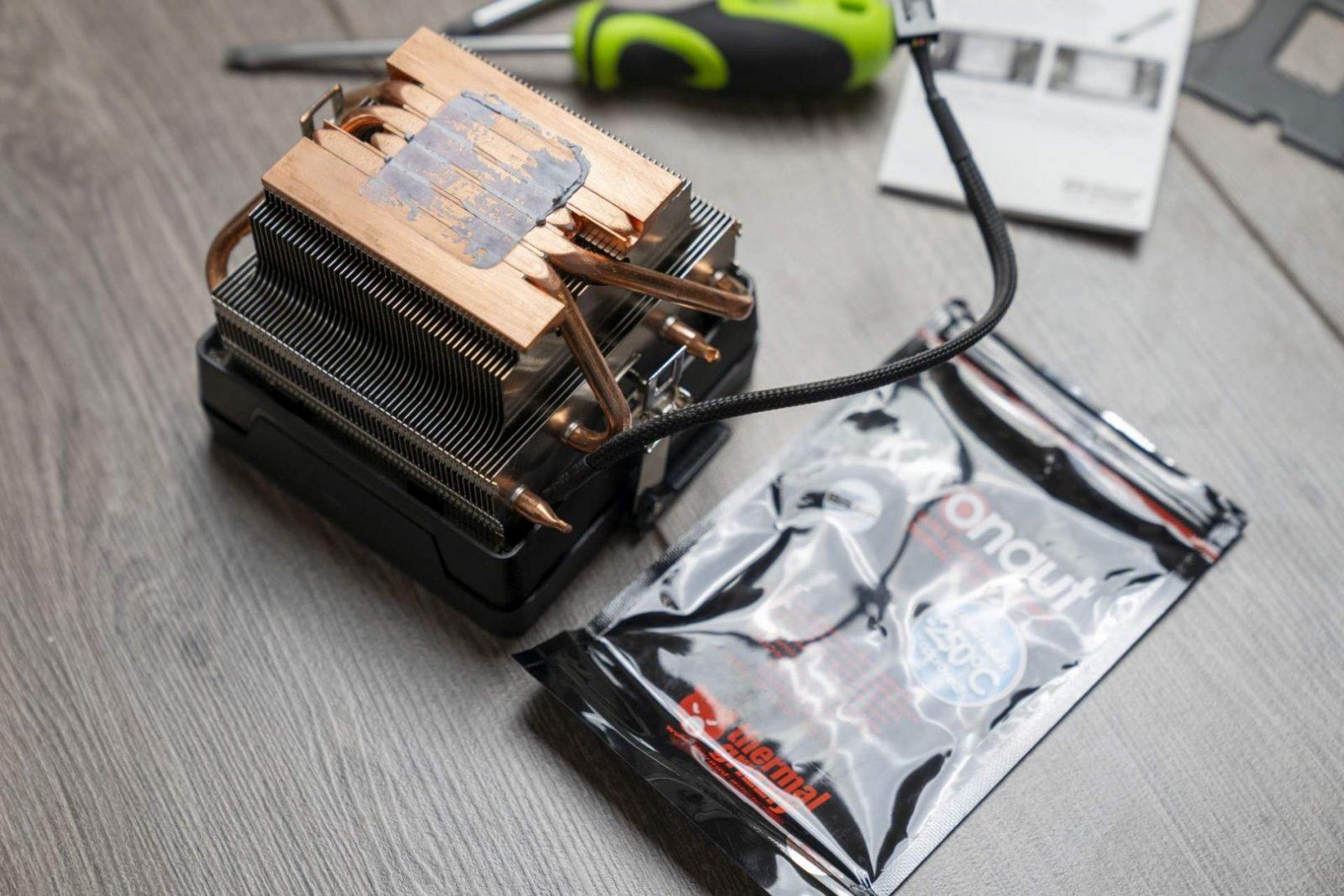 Boxowy radiator w Ryzen9 3900x